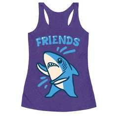 Party on left shark! What's a left shark without it's right shark though? Incomplete that's for sure. The dancing duo will be a friendly pair to go down in football history. Be a MVP with your best friend with these matching trendy shark meme shirts! Perfect for where ever you, and your dancing campaign go to party!
