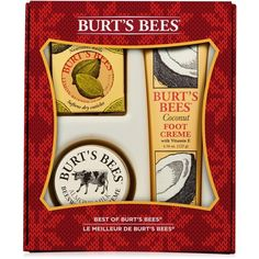 Burt's Bees 3-Pc. Best of Burt's Bees Holiday Gift Set ($15) ❤ liked on Polyvore featuring beauty products, gift sets & kits, no color and burt's bees