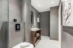Concrete Design, Bathroom Lighting, Mirror, House, Furniture, Home Decor, Bathroom Light Fittings, Bathroom Vanity Lighting, Decoration Home