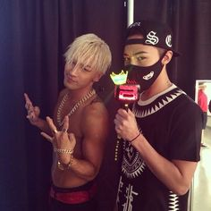♥ GD & TAEYANG♥ --Thank u for coming @xxxibgdrgn and l have memorable night. love u everyone!---  Photo by TAEYANG • Instagram