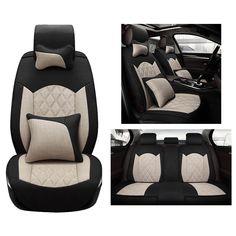 Cloth Flax Universal Car Seat Cover set for Benz A B C D E S series Vito Viano Sprinter Maybach CLA auto accessories car-styling