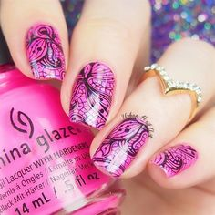 Lace Double Stamping