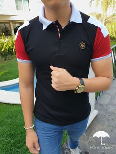 Mens Polo T Shirts, Polo Shirt, Polos Lacoste, T Shart, Men's Fashion, Indian Beauty, Gaston, Crop Tops, My Style