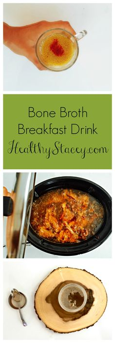 A really simplified way of making bone broth + a delicious sweet and spicy recipe for breakfast bone broth.
