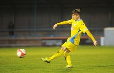 Marc Goodfellow scoring with a free kick vs Witton Albion 16 /11 King's Lynn Town FC