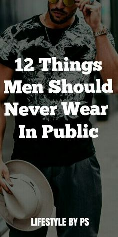 Never ever wear these things in Public, please...