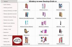 zde najdete kategorii #vibrátory, nabízíme více druhů, velikostí, rozměrů, barev, levné, tvrdé, luxusní. mrkněte se na naše stránky