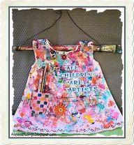 Altered Baby Dress altered-art
