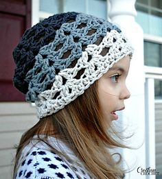 Grayscale Ombre Slouch