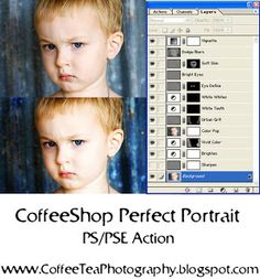 The CoffeeShop Blog: CoffeeShop Actions and Presets! Perfect Portrait