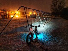 Love this photo of Monkey Lights in the snow by Bicycle Lights, Fort Collins, No Worries, Monkey, Snow, Nice, Day, Instagram, Monkeys