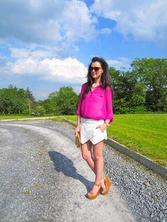 Irish Fashion Zara Skort 28