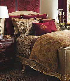 Ralph Lauren Venetian Court Tapestry Queen Duvet Comforter Cover Set New Gold Bedroom, Dream Bedroom, Master Bedroom, Bedroom Decor, Bedroom Ideas, Comforter Cover, King Comforter, Queen Duvet, Into The West