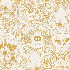 Behang | Hand-drawn print from Tammie Bennett