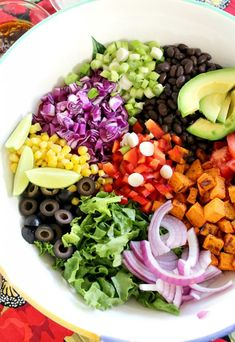 Sweet Potato Mexican Salad --