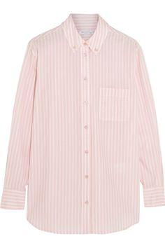 Equipment|Margaux striped cotton shirt