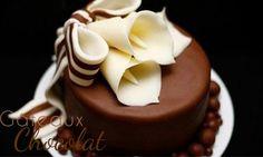 Recette chocolat Plastique : comme une pâte d'amandes ou pâte à modeler #recette #chocolat #choco