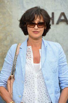 Ines de la Fressange Square Sunglasses - Square Sunglasses Lookbook - StyleBistro