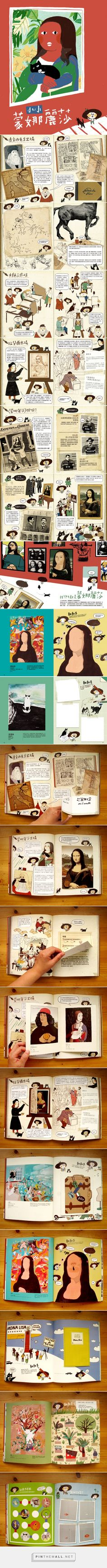 The Little Monalisa / Illustration and Design on Behance - Chia-Chi Yu