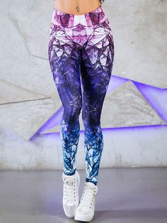 Fashion Tie Dye Workout Leggings