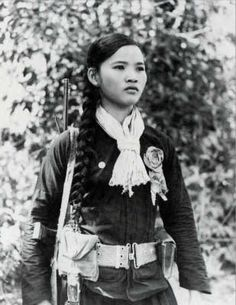 Firebasenam -- Images of Female Vietcong Soldiers
