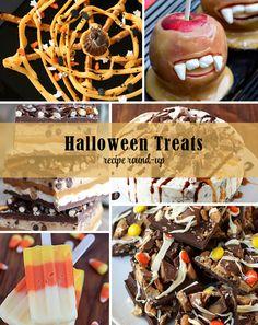 Halloween Treats Recipe Round-up