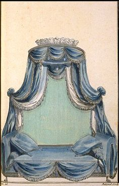 """French Furniture plate - June 1786 - from """"Cabinet Des Modes ou Les Modes Nouvelles""""  See more at http://www.ekduncan.com/2012/07/georgian-era-french-furniture-plates.html#"""