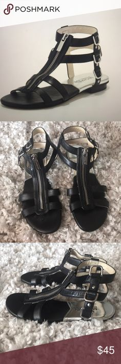 Michael Kors Kennedy Flat Gladiator Sandal  4 1/2m Michael Kors Kennedy Flat Gladiator Sandal  4 1/2m EUC Michael Kors Shoes Sandals