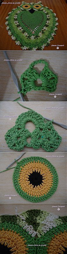 (+1) тема - Коврик-совушка | РУКОДЕЛИЕ [] #<br/> # #Crochet #Home,<br/> # #Crochet #Rugs,<br/> # #Crochet #Patterns,<br/> # #Needlework,<br/> # #Stitches,<br/> # #Owls,<br/> # #Flower,<br/> # #Crafts,<br/> # #Income<br/>