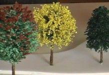 Aprenda como fazer vegetação em miniaturas tema árvore de sisal