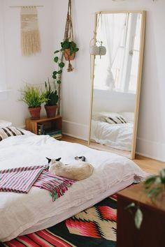 Bohemian Interior Design, Bohemian Decor, Design Interior, Interior Ideas, Bedroom Colors, Bedroom Decor, Bedroom Ideas, Deco Boheme Chic, Boho Chic Bedroom