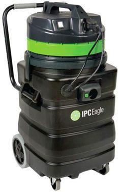 IPC Eagle Wet / Dry Shop Vacuum with Poly Tank:: 24 Gallon, (2) 1.5 HP Motors, 202 CFM - Dultmeier Sales