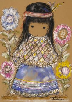 DeGrazia Art presents a collection of Gallery Prints authorized by the DeGrazia Gallery. These are full sized prints suitable for framing. Native American Art, American Artists, Beautiful Artwork, Cool Artwork, Sunflower Art, Southwest Art, Modern Artists, Art Portfolio, Indian Art
