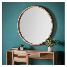 Gallery Direct Bowman Mirror Large W1000 x H1000mm