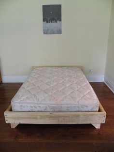 Build a Wooden Bed Frame Bedding Wooden beds and Frames