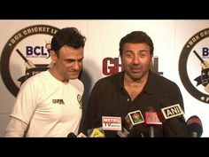 Sunny Deol promotes Ghayal Once Again with BCL Panjab team.