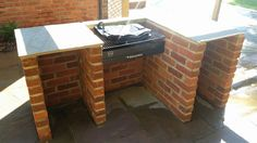 A great new @blackknightbbqs surround for the Black Knight barbecue kit with Ember Guard -