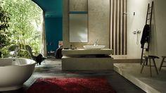 Leave an image that creates a statement #interiordesigners #luxuryinteriors #axorbathroom #bathroomluxury
