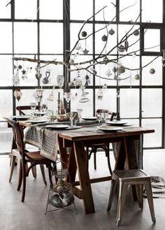 Décoration table de fête au style industriel - Clubmonaco