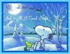 Good Night!!! tomorrows Christmas i cant wait. Santa is now in the u.s