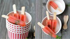 Domácí melounové nanuky   Prima Looks Yummy, Popsicles, Basil, Cantaloupe, Party Time, Watermelon, Diy And Crafts, Brunch, Fruit