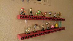 Donkey Kong Amiibo shelf