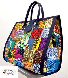 Wax Print Bag,, African Hobo Bag, African Ankara Print Fabric Tote ...