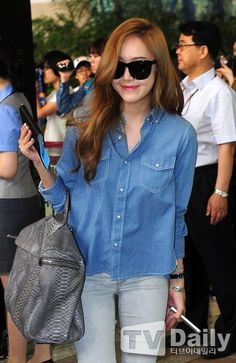 Jessica❤ #kpop #snsd #airport #fashion
