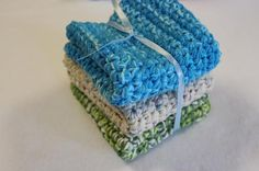 Eco Friendly Chunky Crochet Dishclothes or by FoxyBabies on Etsy (Home & Living, Kitchen & Dining, Linens, Dishcloths & Kitchen Towels, housewares, kithen, bathroom, dishcloth, wash cloth, crochet dishcloth, crochet wash cloth, crochet, handmade, eco friendly, cotton, cotton wash cloth, cotton dishcloth)