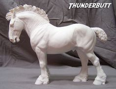 Sculptor Kitty Cantrell - resin model horse