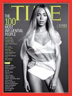 Beyoncé Covers TIME Magazine's Most 100 Influential People Issue with Suspiciously Slimmer Thighs