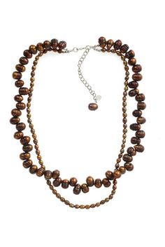 I love pearls, especially brown pearls!!