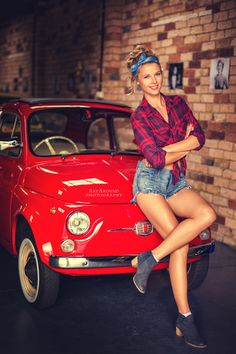 Cars by ArtAroundPhotography on Psychobilly, Fiat, Rockabilly, Pin Up, Vintage Fashion, Cars, Style, Facebook, Photography