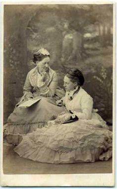 Lovely CDV of Mother and Daughter- ID'd- Lyndhurst Sitting Poses, Vintage Photos, Daughter, Best Deals, Ebay, Cards, Vintage Photography, My Daughter, Vintage Typography